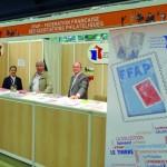 Sur le stand de la FFAP : Anne-Marie Schneider, Alain Hecquet et Dominique Ballagny.