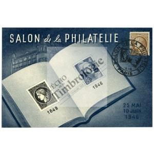 Premier salon philat lique de l apr s guerre l 39 echo de - Salon de l astronomie ...