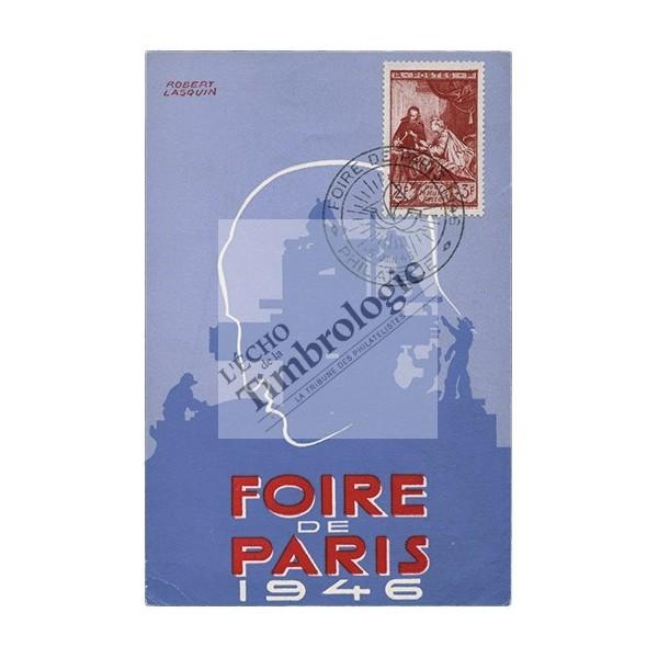 Souvenir du salon philat lique la foire de paris 1946 for Salon foire de paris